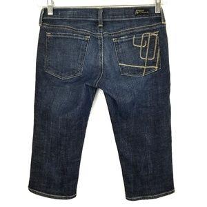 Citizens of humanity bardot denim capri jeans